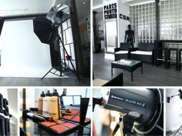 Alquiler por hora: LOCATION / PRIVATISATION STUDIO PHOTO/VIDEO