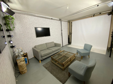 Rental per hour: Location studio photo